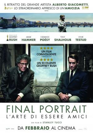 Final Portrait - L'arte di essere amici V.O.