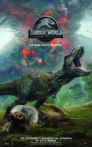 Jurassic World - Il Regno distrutto   Imax (3D)