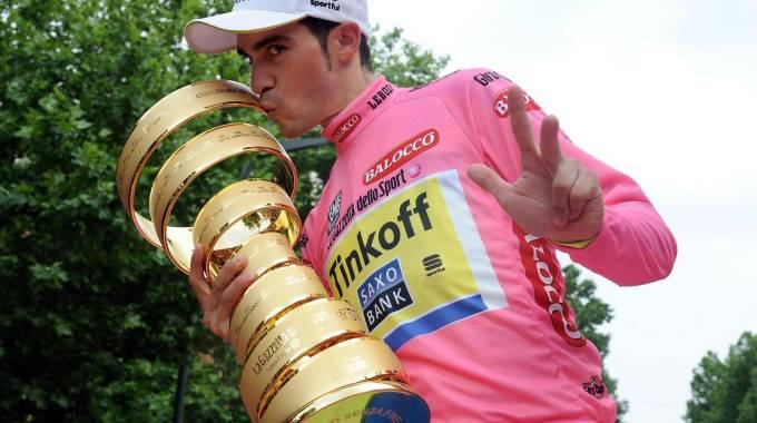 Trionfo Contador, suo il Giro d'Italia 2015