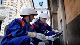 Soccorso, lavori sulla rete elettrica