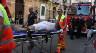 Taranto, esplode bombola gas. Crolla palazzo: 1 morto e 6 feriti. Ricoverata donna incinta