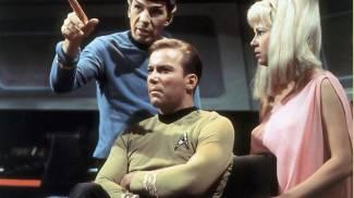 Una scena di Star Trek