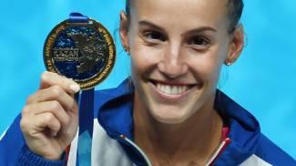 Tania Cagnotto, oro da leggenda. Mondiali di nuoto, tripudio Italia. Trionfo dopo 40 anni