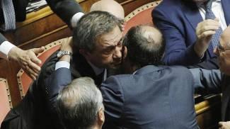 """L'aula del Senato salva Azzollini. Respinta la richiesta d'arresto. """"Non me l'aspettavo"""""""