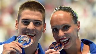 Mondiali: sincro, Italia conquista il bronzo nel duo misto libero