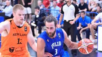 Basket, in direzione Europei: gli azzurri piegano l'Olanda