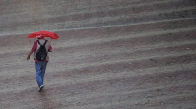 Pioggia in Toscana (Foto Lazzeroni)