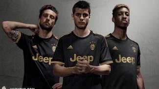 Juventus, ecco la terza maglia per la stagione 2015/2016