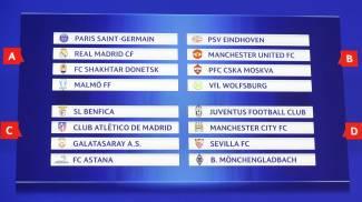 Champions, Manchester City e Siviglia nel girone della Juve. Roma con Barça e Bayer