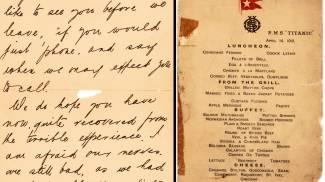 Titanic, all'asta il menù dell'ultimo pranzo: può valere 70mila dollari