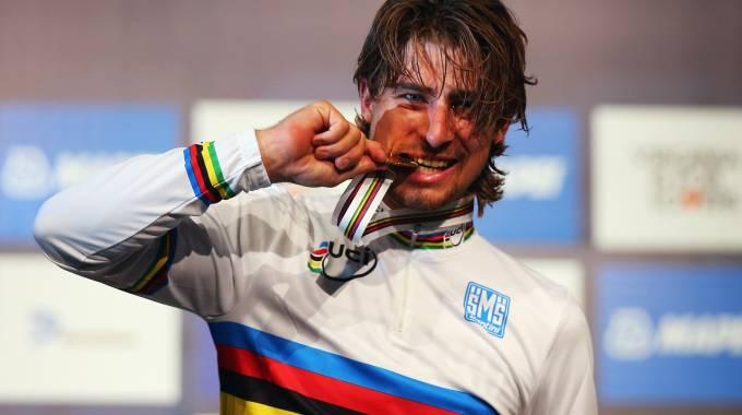 Sagan, un mondiale nato in Italia