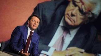 """Renzi dall'Annunziata: """"Canone Rai ridotto dal prossimo anno, ma si pagherà in bolletta"""""""