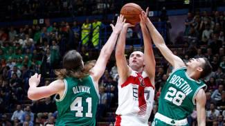 Basket, Boston troppo forte: Milano travolta. Ma la sfida è uno spettacolo