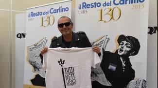 """Luca Carboni direttore del Carlino per un giorno: """"Bisogna riportare la parola al centro"""""""