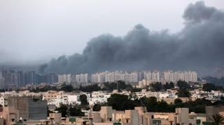 Battaglia a Tripoli (Ansa)