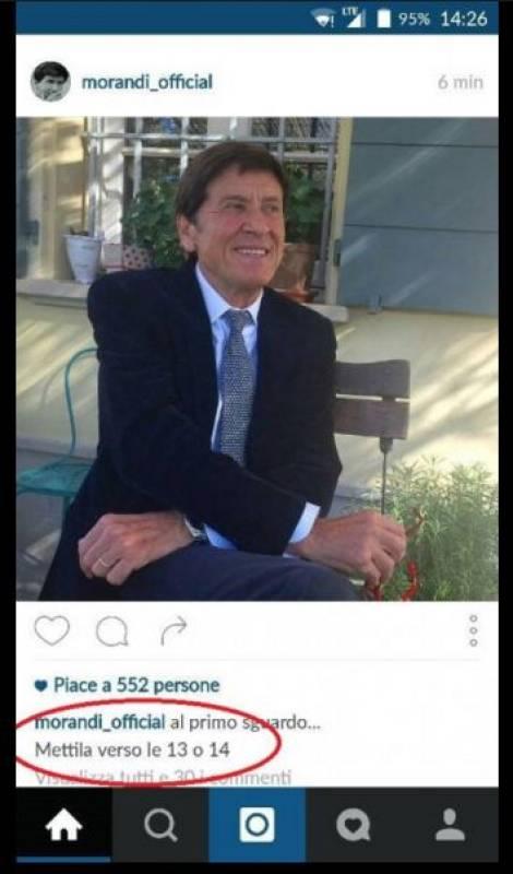 La foto su Instagram e il dettaglio del presunto patatrac Morandi, evidenziato sul profilo Fb di Selvaggia Lucarelli