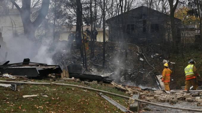Aereo Privato Augusto Perfetti : Ohio aereo si schianta su una casa morti la nazione
