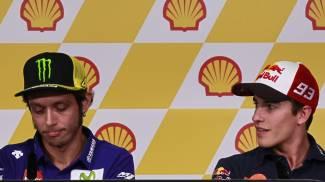 Valentino Rossi e Marc Marquez, divorzio in affari
