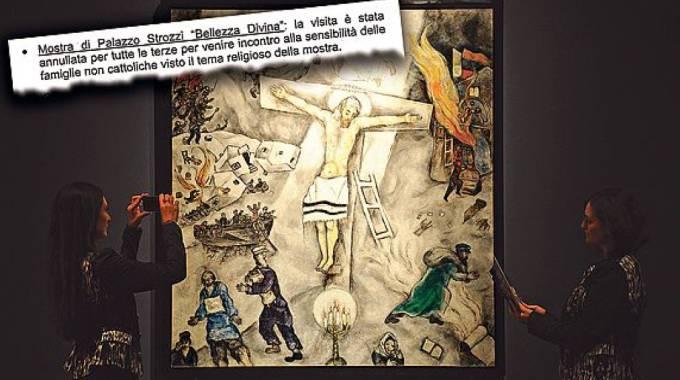La mostra ''Divina Bellezza'' vietata ai bambini