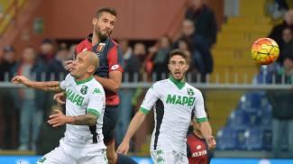 Genoa-Sassuolo, le foto: decide Pavoletti in un finale choc