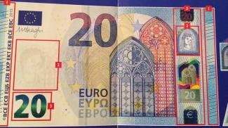 Ecco la nuova banconota da 20 euro: è a prova di falsificazione