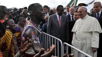 Il viaggio del Papa in Africa: è atterrato in Kenya