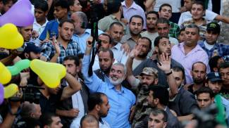 Il leader di Hamas Ismail Haniyeh (Reuters)