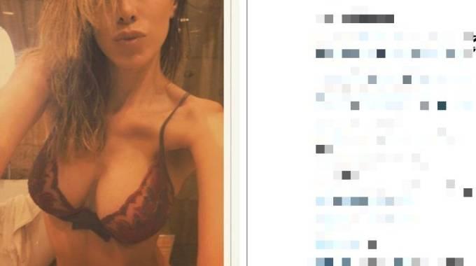Aida Yespica su Instagram, intimo hot dopo la doccia