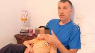 Il padre di Ashya King spiega le ragioni della loro fuga (da youtube)