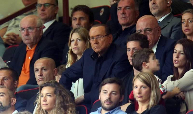 Barbara Berlusconi, Silvio Berlusconi, Adriano Galliani