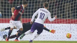 Bologna-Fiorentina 1-1, i viola in dieci soffrono e non vanno oltre il pari