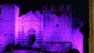 Giornata per l'epilessia, il Castello diventa viola