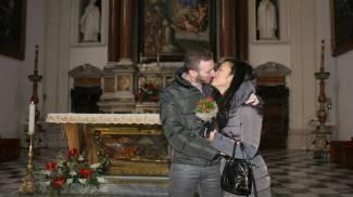 San Valentino, a Terni la promessa d'amore di 120 coppie
