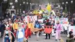 Ecco le foto della allegra sfilata dei Fantaveicoli