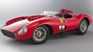 Ferrari record, la 335 Sport Scaglietti aggiudicata a 32 milioni di euro
