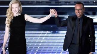 """Nicole Kidman a Sanremo: """"Firenze è la mia città preferita"""""""