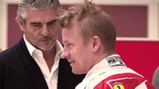 Ferrari F1 2016, Raikkonen prova il sedile