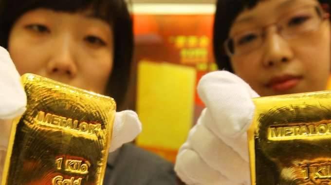 Oro: in rialzo a 1217 dollari