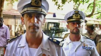 I due marò Massimiliano  Latorre e Salvatore Girone (Lapresse)