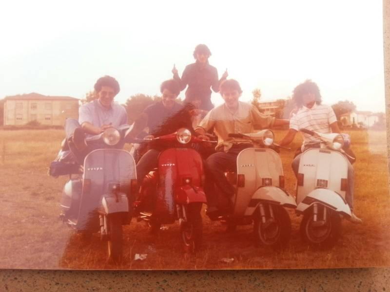 1981: Mimmo Distefano, Massimo Fabbrizzi, Maurizio Boni, Maurizio e Alfio Reale, Luca Dei