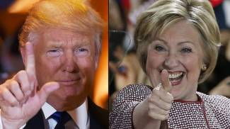 Image Sondaggi: Clinton-Trump, testa a testa prima del duello. FOCUS Guida al dibattito