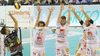 Lube, addio sogni di gloria. Perugia vola in finale