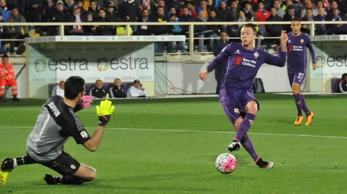 Fiorentina-Juventus 1-2 | Kalinic croce e delizia: la Viola perde e protesta