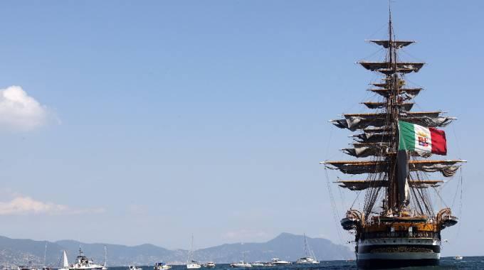 Il 'Vespucci' salpa e sarà testimonial delle Olimpiadi a Roma