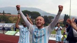 Calcio dilettanti, Santini  è il supergoleador della Valdinievole