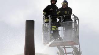 Montespertoli, va a fuoco un silos alto 18 metri