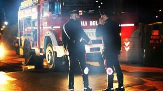 Olgiate Molgora, le fiamme divorano un'auto