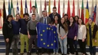 Giovani cesenati in missione al Parlamento europeo