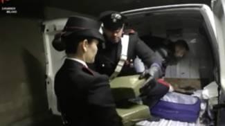 Smantellata rete di spaccio, 3 arresti e sequestro di oltre 100 kg di droga