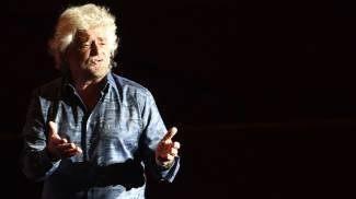 Beppe Grillo all'Europauditorium, le foto dello spettacolo 'Grillo vs Grillo'